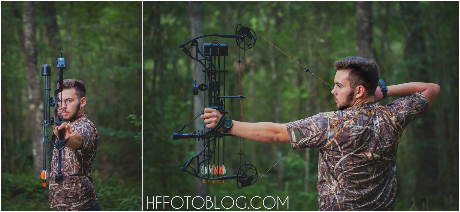 animal photographer, bow hunting, boy senior, bridge; camo, camo gun, camoflauge gun, creek, field photo shoot, Heather Fontenot, HF Photography Lake Charles, hunting dog, hunting senior session, hunting themed senior, lake charles photographer, lake charles senior photographer, lake charles senior photography, Louisiana, moss bluff louisiana, sam houston high school senior, sam houston high schoool, sam houston jones state park, sam houston park, sam houston senior, senior boy photo shoot, Senior session, shhs