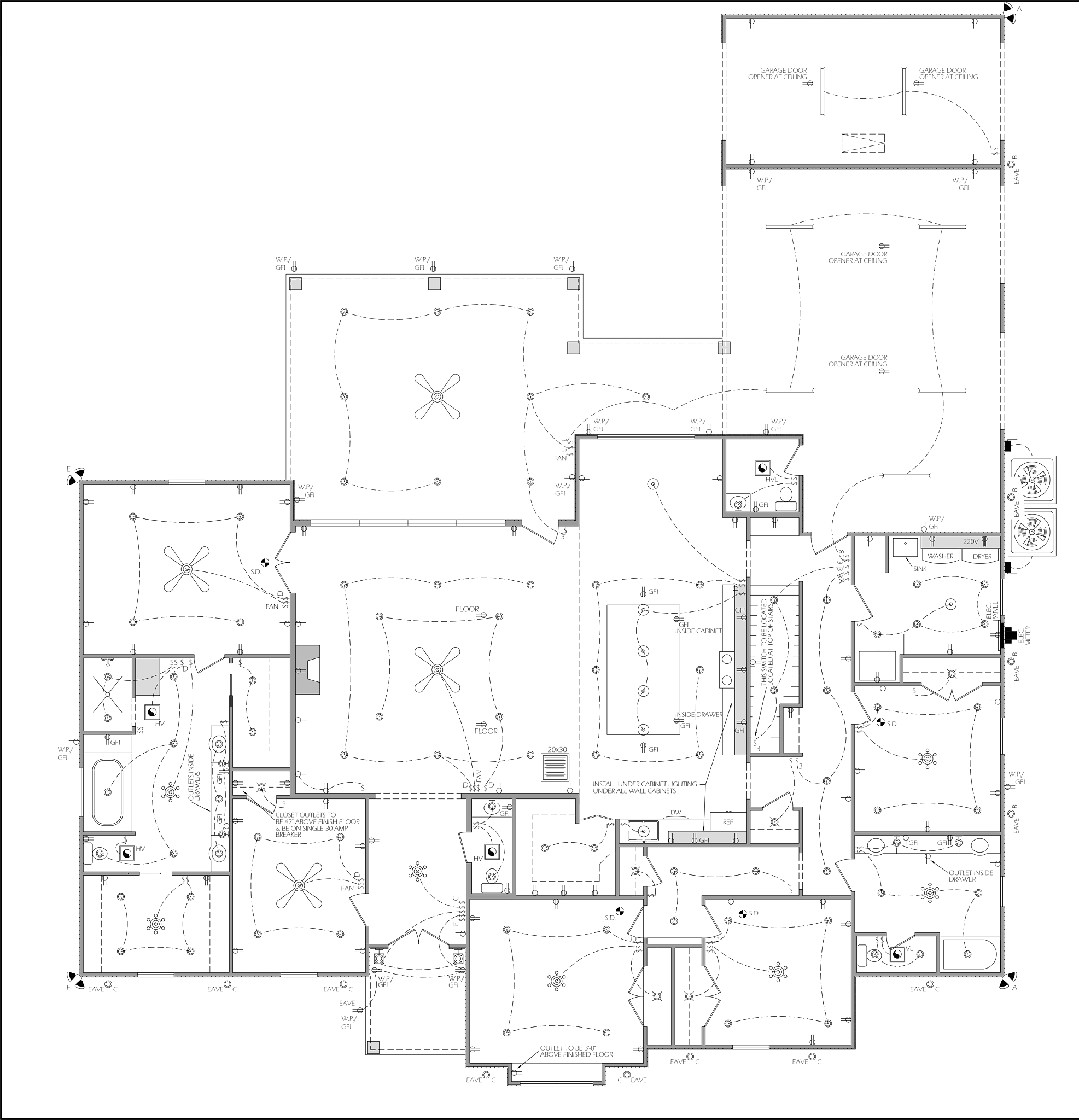 Lake charles, La, House build, new construction, craftsman house, modern, self contracting, dream home, black and white, Dunham price, Decker pumping, Anderson windows, anderson doors, open concept, 12 foot ceilings, building the dream, fontenot dream home, foam insulation, bonus room, home office, hf photography, fontenot