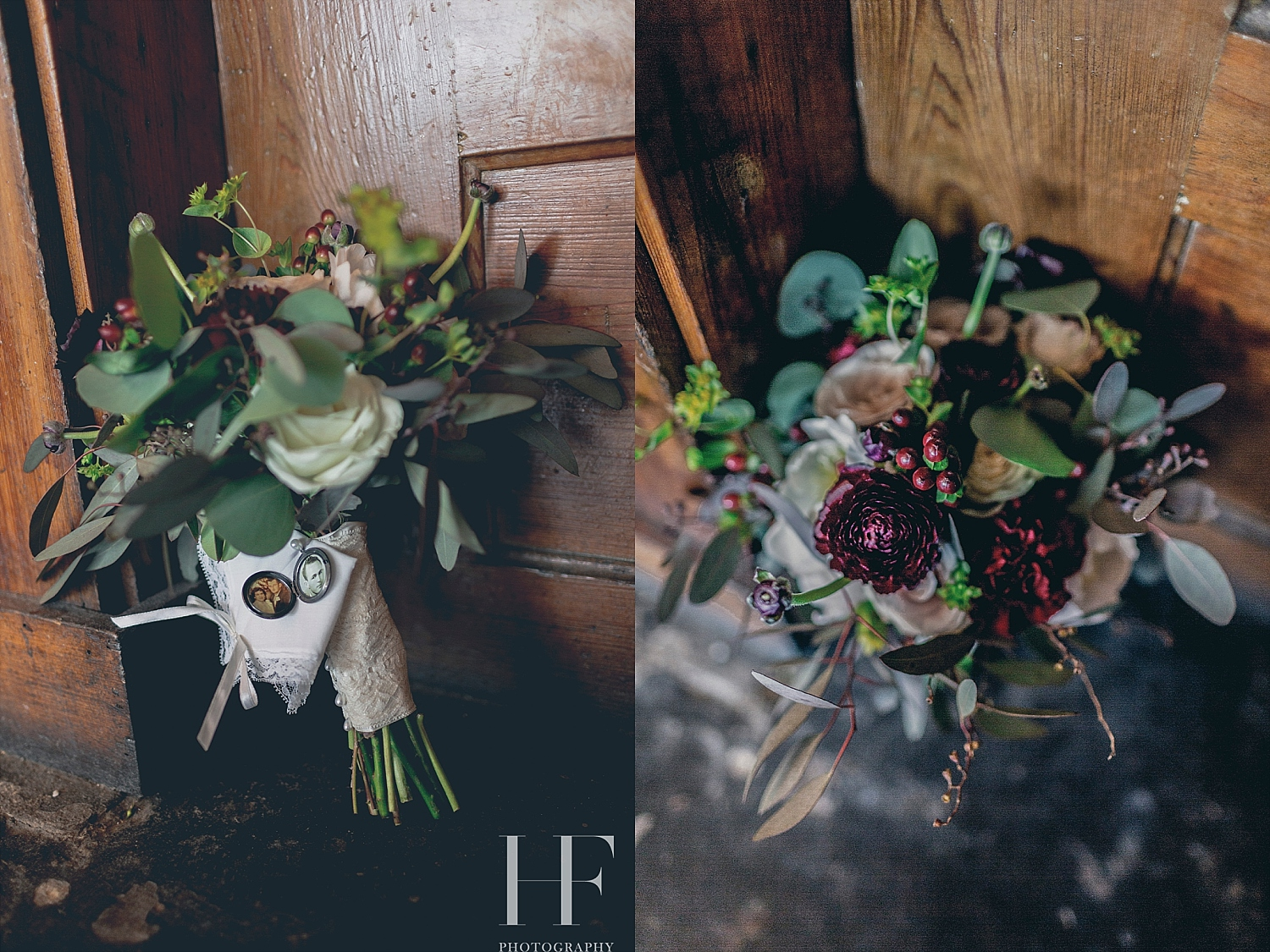 Cajun Cafe wedding bouquet